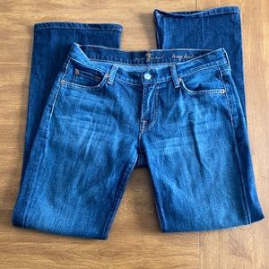 7 For All Mankind long bootcut size 29 jeans